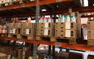 Estoque de tinta: Como uma boa gestão melhora a qualidade do produto?