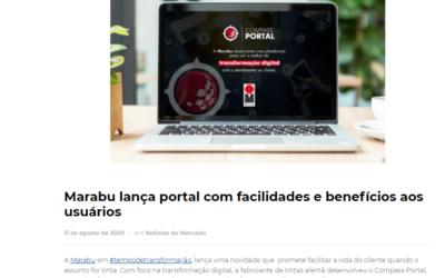 Marabu lança portal com facilidades e benefícios aos usuários